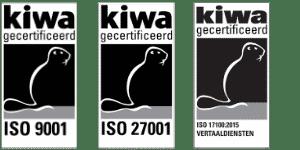 ISO gecertificeerd vertaalbureau
