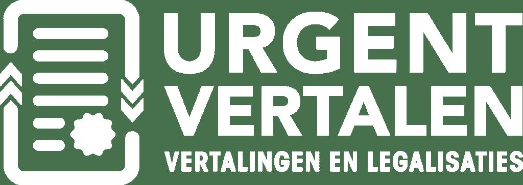 Logo-Vertaalbureau-Urgent-Vertalen-wit